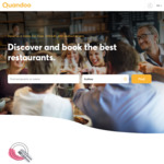1000 Points ($15 Cashback) for Restaurants Booked @ Quandoo