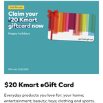 Free $20 Kmart eGift Card for Optus Customers