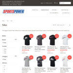 Nike Mens Tees $19.95 + Delivery (Free over $75 Spend) @ SportsPower Geelong