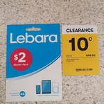 Lebara Mobile SIM Card $0.10 (WAS $1) @ Big W