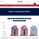 Men's Cotton Shirts Inc Non-Iron $20ea (Were $89.95-$139.95) @ T.M.Lewin (Free Shipping with $20 Spend)