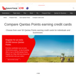 Register for an Extra 20,000 Bonus Qantas Points (First-Time Cardholders) @ QFF Credit Card
