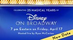 Free - Disney on Broadway 25th Anniversary Concert @ YouTube