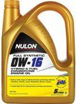 Nulon Hybrid and Fuel Conserving Engine Oil 0W-16 5 Litre $17.99 @ SuperCheapAuto