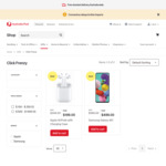 Apple AirPods with Charging Case $199 Delivered | Samsung Galaxy A51 $499 Delivered @ Australia Post Online Shop
