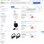 Huawei FreeBuds 3 (White / Carbon Black) $173, Beats Powerbeats Pro $268 Delivered @ Allphones eBay via Afterpay