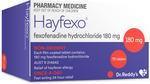 Hayfexo Fexofenadine Hydrochloride 180mg - 70 Tablets (Generic Telfast) $13.99 Inc Postage @ PharmacySavings