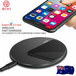 2X DIVI Genuine P2209QW-10 Qi 10W Wireless Fast Charging Pad $14.8 Delivered (Buy 1, Get 1 Free) @ HTL eBay