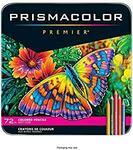 Prismacolor Premier Soft Core Coloured Pencils - 72 Pack - $59.21 + Delivery ($0 with Prime) @ Amazon US via AU