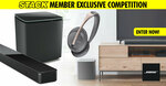 Win a Bose Soundbar/Subwoofer/Headphone Prize Pack Worth $2,877 from STACK