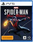 [PS5, Pre Order] Marvel's Spider-Man Miles Morales - $79 Delivered @ Amazon AU