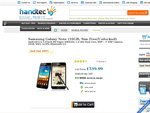 Samsung Galaxy Note $740.74 inc. DHL Delivery from Handtec