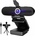 [Prime] W8A 4K Webcam 1080P $63.98 Delivered @ Zi Qian via Amazon AU