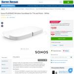 Sonos PLAYBASE Wireless Soundbase Speaker (White) $539.10 with Free Pickup @ Harvey Norman