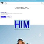 Spend $100 or More on TCN Gift Cards ('Online' BACK IN STOCK!) and Get a Bonus $50 Holiday and Hotel eGift Card