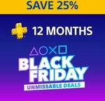 12 Months PlayStation Plus $59.95 (Was $79.95) @ PlayStation Store