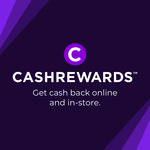Bonus $10 Cashback on $10 Spend @ Cashrewards