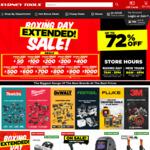 20% Store Credit (Minimum Spend $250) @ Sydney Tools