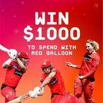 Win a $1,000 Red Balloon Voucher from Liberty Financial