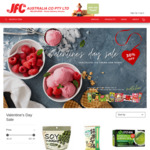 [VIC] 30% off Valentines Day Sale - Chocolate, Ice-Cream, and Matcha + Delivery/C&C @ JFC Online