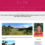 Win a Round of Golf for Four People Including Cart at The Palms Sanctuary Cove Golf and Country Club Valued at $640 from Slim