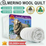 [eBay Plus] Merino Wool Quilts (Australian Made) from $45.05 Delivered @ Linen Dreams eBay
