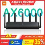 Xiaomi WiFi AX6000 AIoT Router US$119.33 (A$154.89) | AX9000 AIoT US$238.22 (A$309.21) Shipped @ MI Online. Store via AliExpress