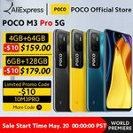 """POCO M3 Pro 5G 6.5"""" 4GB/64GB US$174.90 (~A$226.20) 