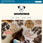 Woofatinos 10% off, A Free Sample Treat with Each Order + Free Express Shipping on Orders over $50 @ Woofatinos