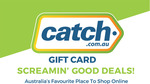 10% off Catch Physical $50/$100 Gift Card Delivered @ Australia Post