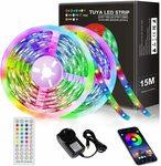 JORAGO 15M TUYA5050 LED Strips (SAA Certified) $33.99 (was $39.99) + Delivery ($0 with Prime/ $39 Spend) @ Jorago via Amazon AU