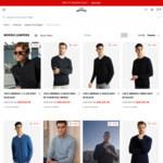 Men's 100% Merino Knits $29.99 + Delivery ($0 with $59 Spend) @ Hallenstein Brothers