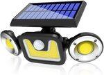 Solar Lights Outdoor $24.98 + Delivery ($0 with Prime/ $39 Spend) @ Jornarshar-AU via Amazon AU