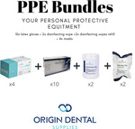 200 Masks, 400 Gloves, 10 Boxes Disinfecting Wipes, 2x Disinfecting Wipes Refills $215 (Was $224.82) + Delivery @ Origin Dental