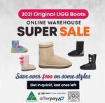 10% off Original UGG Boots (Including Sale) @ Original Ugg Boots