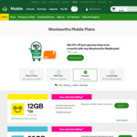 $200 145GB Long Expiry Mobile Starter Pack for $180 (Online Only) @ Woolworths Mobile