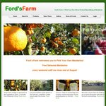 Pick Your Own Satsuma Mandarins - All You Can Pick/Eat for Free @ Ford's Farm [Outer Sydney]