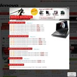 Lenovo: March Madness. Save up to 40% on Laptops, Desktops, Workstations and Servers