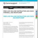 FREE LIVE On-Line Instructor Led CISCO ASA FIREWALL Course