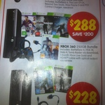 Xbox 360 250GB +FIFA 14 +Battlefield 4 +Halo 4 +Tomb Raider +1 Month Live +HDMI Cable $288 @ DSE