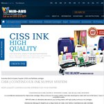 15% off All Ink Supply System @ MIR-AUS CISS, Ink Supply System for Epson, Canon, HP and Brother