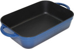 Home Cafe Seasoned Roaster 33x22.8cm Blue - $29 @ Harris Scarfe (Save $220)