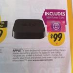 APPLE TV + Bonus $20 iTunes Card for $99 @ DSE Starts 27th March