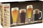 Libbey Beer Tasting Glass Set (4 Different Glasses) - Dan Murphys - $6.99 + Shipping