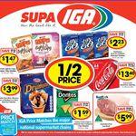24x Coke $13.40 ($0.55/can), 4x Maxibon/Monaco Ice Cream $3.99, Doritos $1.59, Shapes $1.47 @IGA