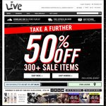 Take Further 50% OFF Sale Items + Extra 15% OFF Using Code @ Live Clothing