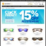 15% off Glasses and Sunglasses (Including Prescription) from Visiondirect.com.au - Click Frenzy