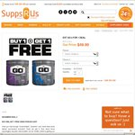 Pre-Workout Drink EXT GO 2 FOR 1 DEAL at Supps R Us $49.90 with Free Shipping