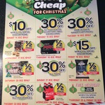 """Woolworths """"12 Days of Cheap Cheap"""" Coupons"""