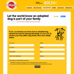 FREE: Dog Adoption Awareness Stickers (Delivered) by Pedigree